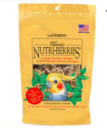 LAFEBER NUTRI-BERRIES/TIEL 12.5OZ.