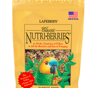 LAFEBER NUTRI-BERRIES/PARROT 12OZ.