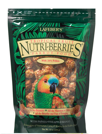 LAFEBER TROPICAL FRUIT/PARROT 10OZ.