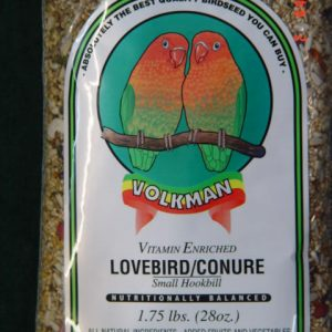 VOLKMAN LOVEBIRD/CONURE-2 LB